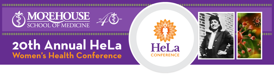 20th Annual HeLa Women's Health Conference Logo