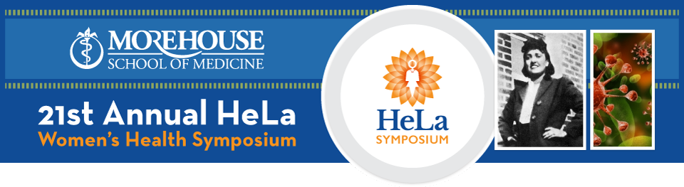 21st Annual HeLa Women's Health Symposium Logo